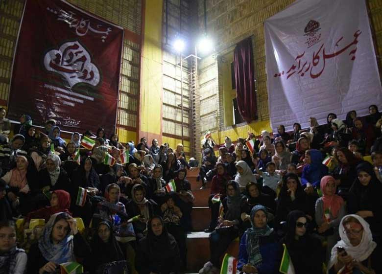 همایش «دختران شهر» در حمایت از قالیباف برگزار شد
