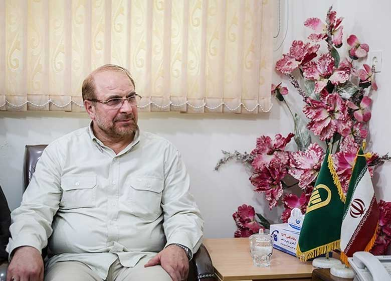 قالیباف با جمعی از علمای تهران دیدار کرد