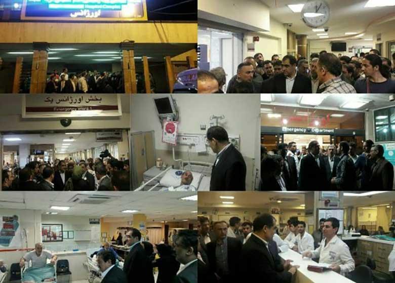 بازدیدهای شبانه وزیر بهداشت از بیمارستانهای پایتخت