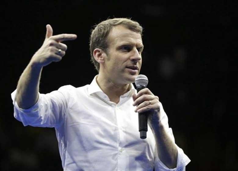 رئیسجمهور منتخب فرانسه نام حزب تحت رهبریاش را تغییر داد