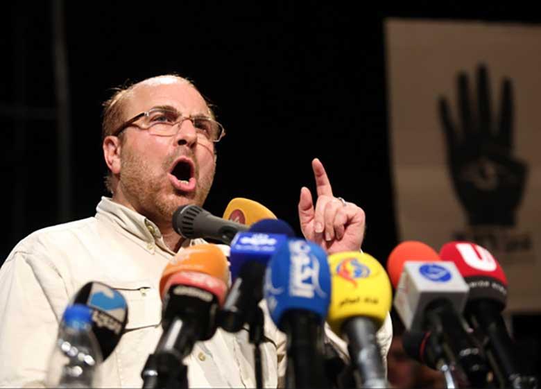 توهین مجری برنامه انتخاباتی قالیباف به رییسجمهور