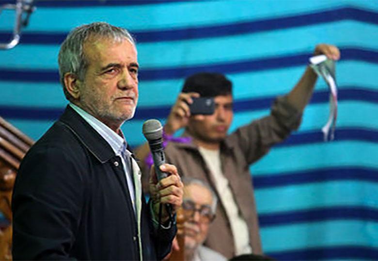 پزشکیان: در عرصه انتخابات و تبلیغات از مجرای اعتدال خارج نشویم