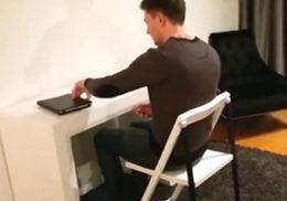 خلاقیت در طراحی میز و صندلی + فیلم