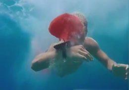 مچ بندی که از غرق شدن جلوگیری میکند + فیلم
