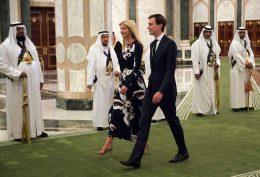 نگاههای شهوت آلود شاهزاده سعودی به دختر ترامپ! + فیلم