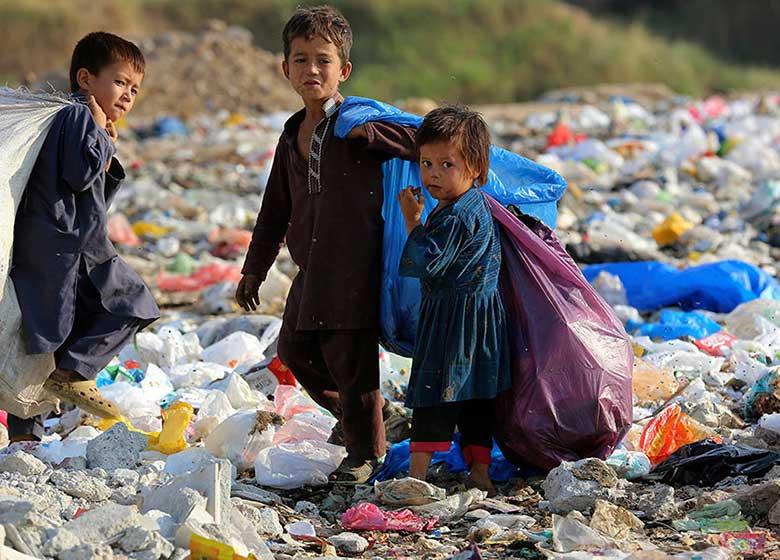 سوءاستفاده از کودکان برای جمع آوری زباله