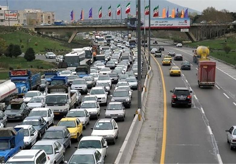 کاهش چشمگیر تردد جادهای در اولین روز رمضان