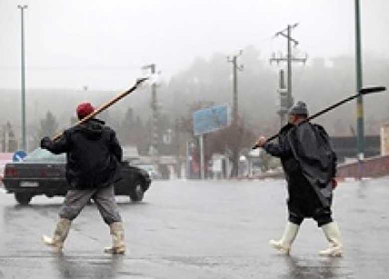 بارش باران تا یکشنبه ادامه دارد/ رگبار پراکنده باران در تهران