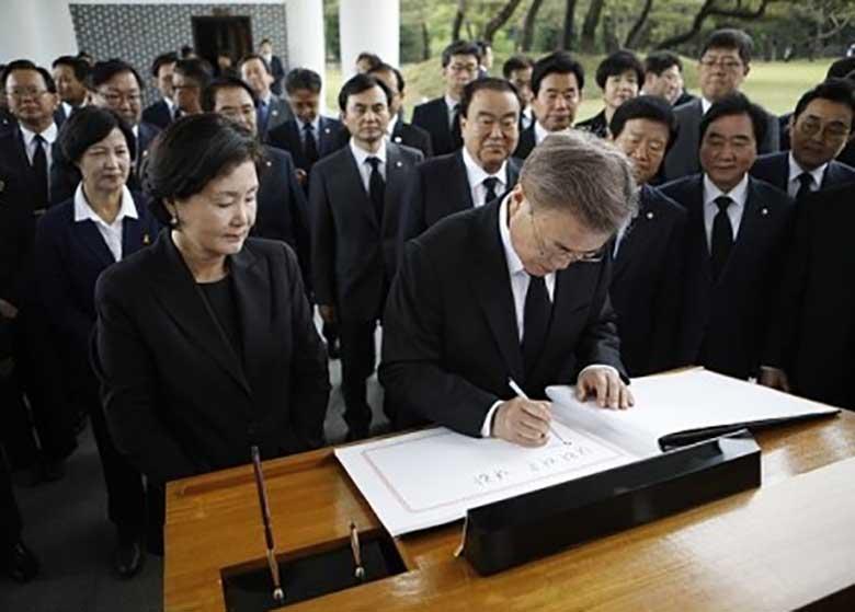 ابراز تمایل رئیسجمهور جدید کرهجنوبی برای سفر به کرهشمالی