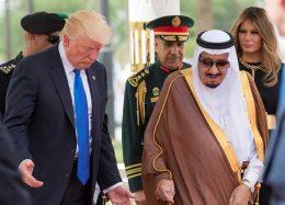 گزارش تصویری سفر ترامپ به عربستان