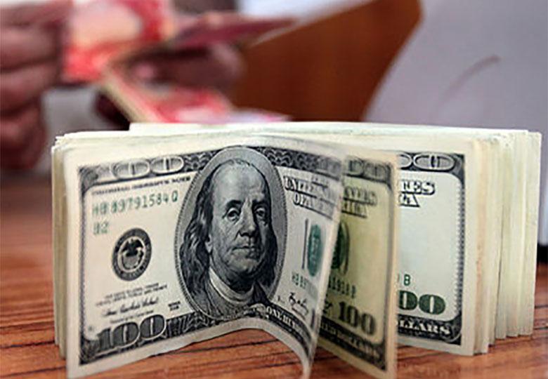 بازدهی دلار منفی شد