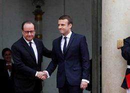 تصاویر : مراسم تحلیف رئیسجمهور فرانسه