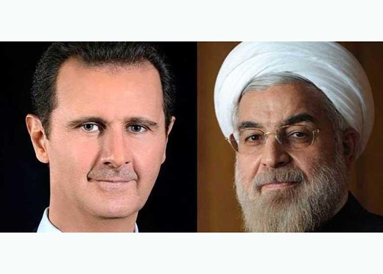 پیام تبریک بشار اسد به حسن روحانی