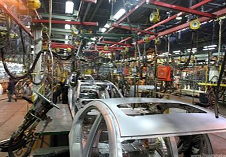تصویر خودروسازی ایران بدون برجام