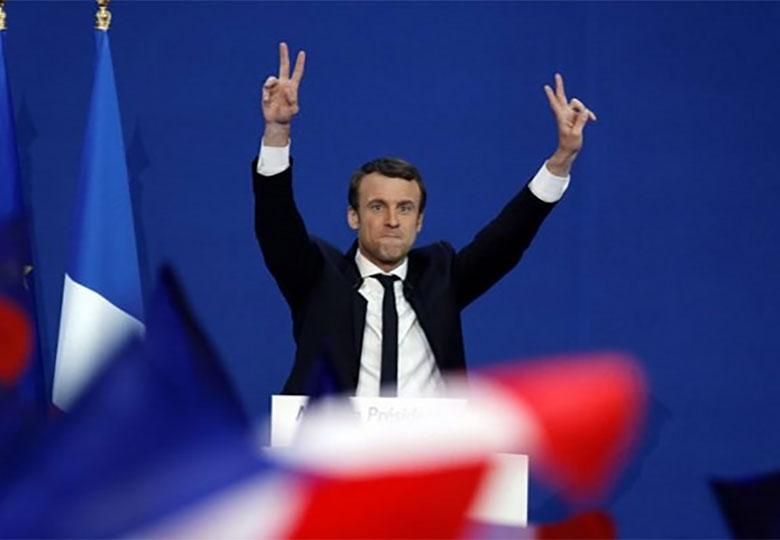 بیوگرافی رییس جمهوری جدید فرانسه منتشر میشود