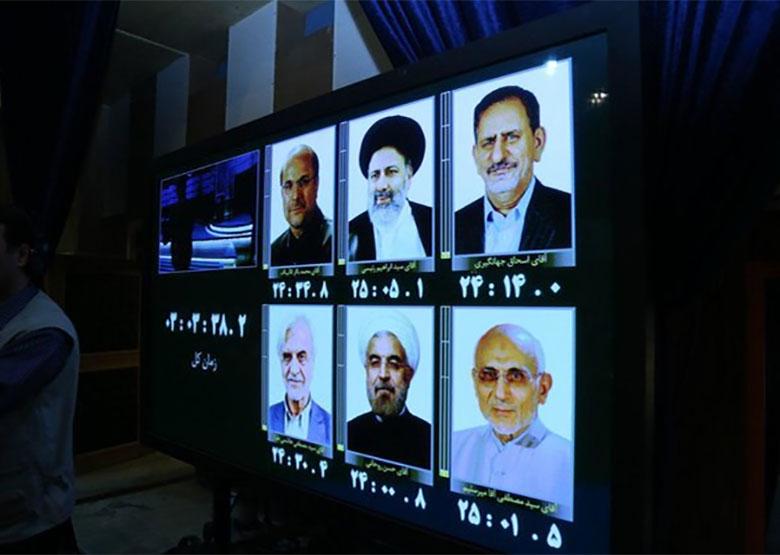 تصاویری از آخرین حضور نامزدها در صداوسیما