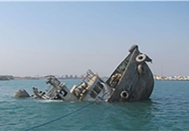 نبود اعتبار برای خارجسازی شناورهای مغروقه در کارون
