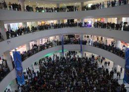 حضور هنرمندان در افتتاح پردیس سینمایی مگامال