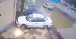 لحظه دزدی با پراید از خودروها + فیلم