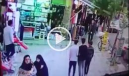 فیلم تیراندازی دربازار اسلام آباد غرب