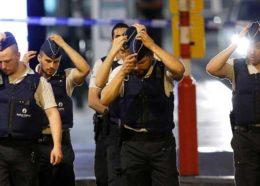 انفجار انتحاری در ایستگاه قطار بروکسل