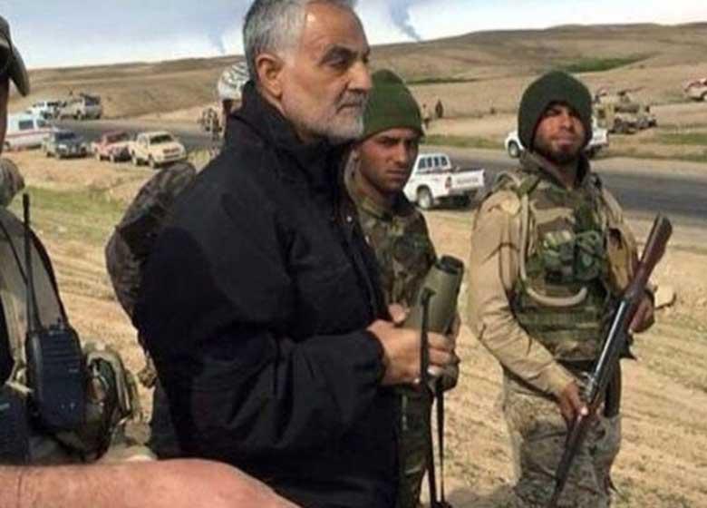 تصویری از سردار سلیمانی که صهیونیستها را ترساند