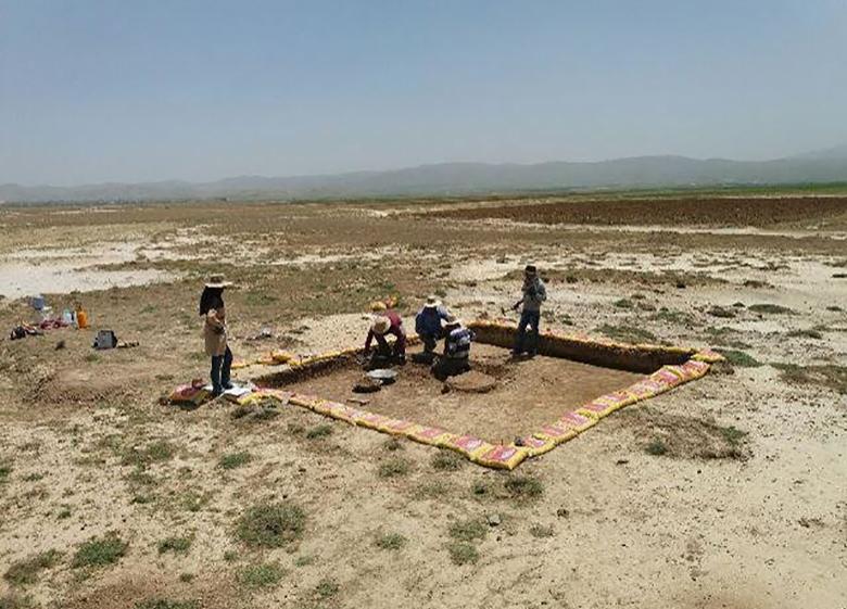 آغاز کار باستانشناسان در فرودگاه ملایر