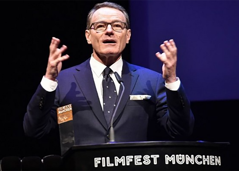 جشنواره فیلم مونیخ از برایان کرانستون تجلیل کرد