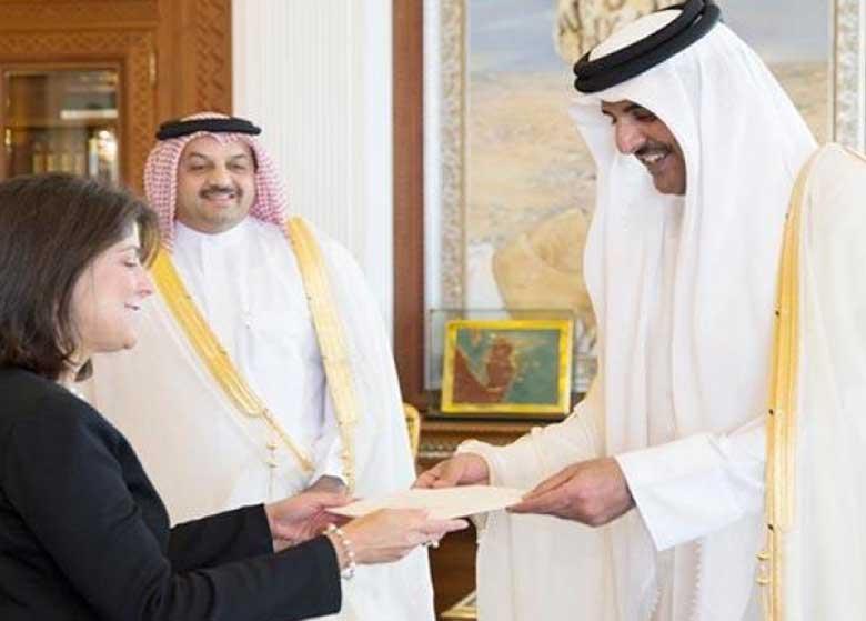 استعفای ناگهانی سفیر آمریکا در قطر
