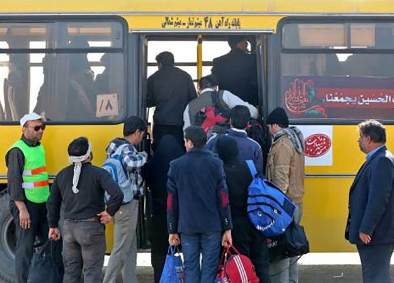 اتوبوسران مشهدی جان کودک ۳ ساله را نجات داد