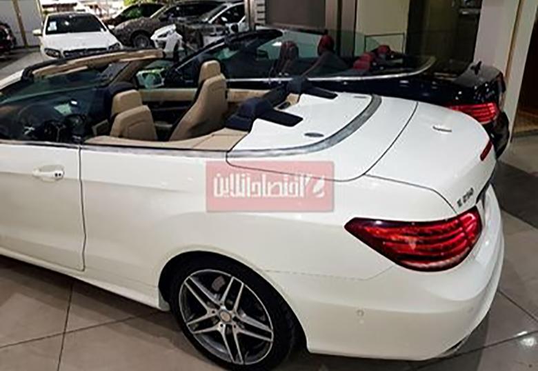 بنز Cabriolet در نمایشگاه خودرو در تهران +عکس