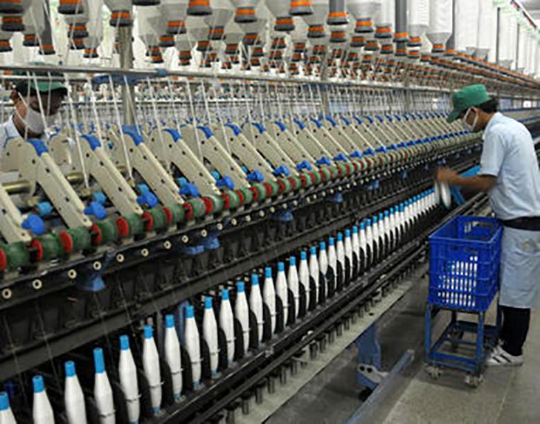 ریز نمرات صنعت نساجی در صادرات