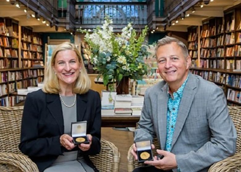 دو آمریکایی برنده مهمترین جایزه کتاب کودک بریتانیا شدند