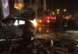 مصدومیت ۳۵ نفر بر اثر انفجار یک فروشگاه در شیراز/ فیلم