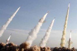 لحظه اصابت موشکهای نقطهزن سپاه به اهداف از پیش تعیین شده + فیلم