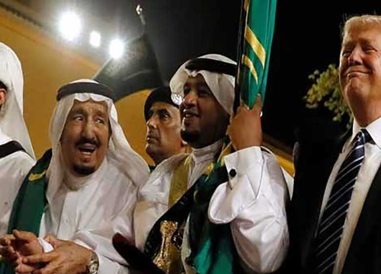 ملک سلمان کشورهای عربی را فریب داده است/ترامپ حضور نظامی آمریکا در قطر را فراموش کرد