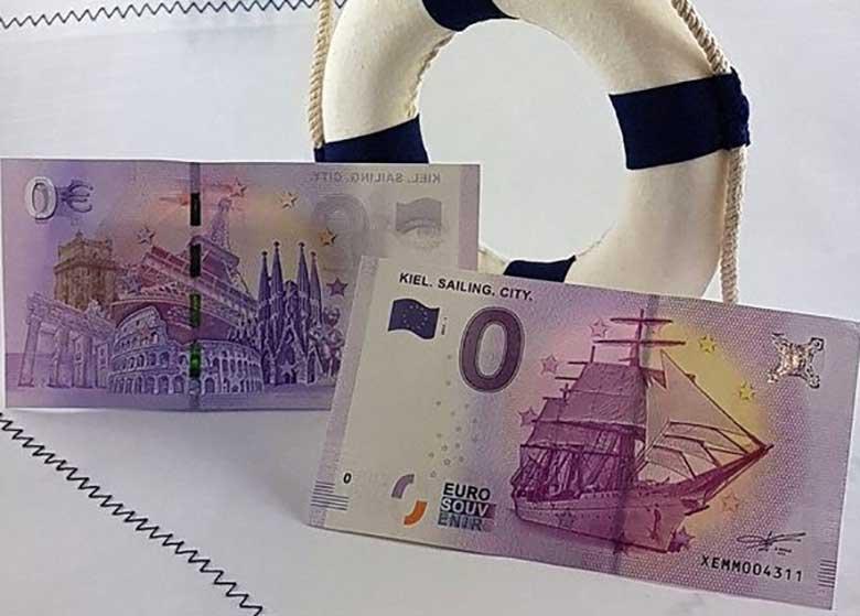 اسکناس صفر یورویی به بازار آمد