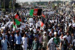 تظاهرات خونین در کابل/ فیلم