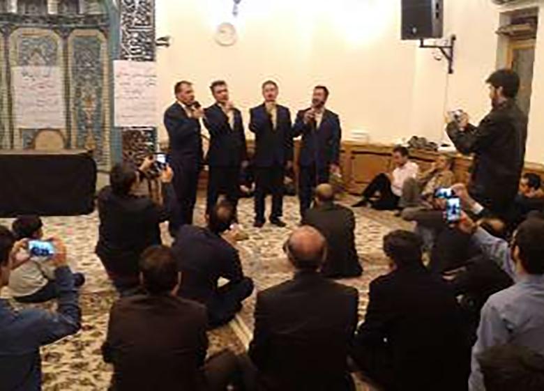 آئین شب قرآنی در مسکو برگزار شد