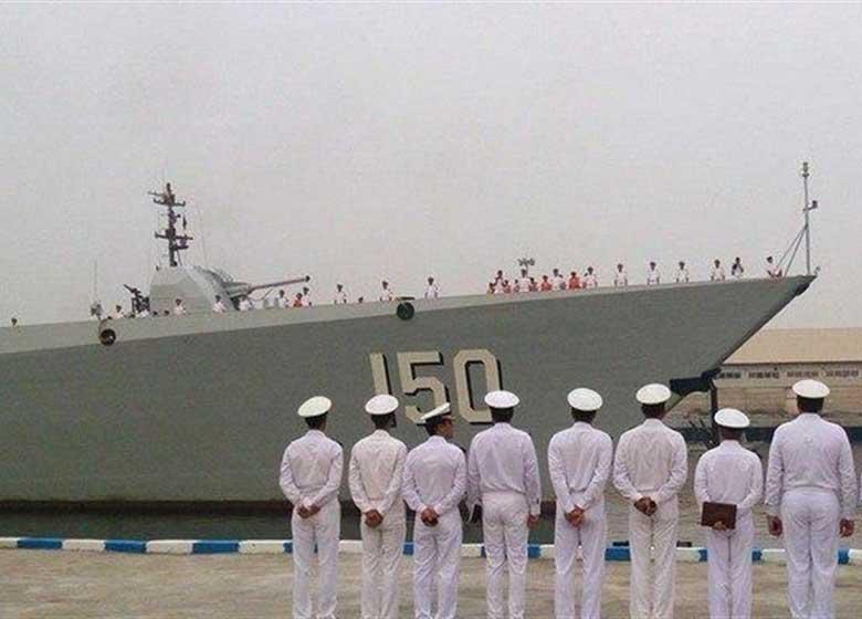 فردا؛ پهلوگیری ناوگروه نیروی دریایی ارتش چین در بندرعباس