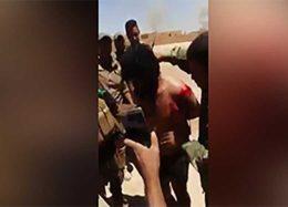 بازداشت مسئول اطلاعات داعش در استان نینوا + فیلم