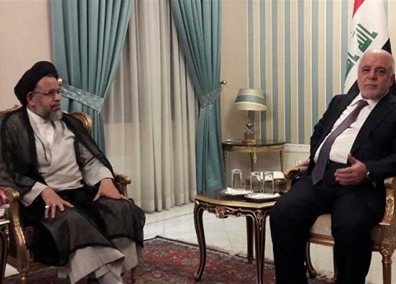 دیدار وزیر اطلاعات با العبادی در تهران