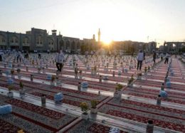 بزرگترین سفره افطاری جهان اسلام در مشهد