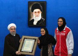 ضیافت افطاری رییس جمهوری با ورزشکاران