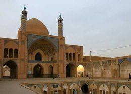 معماری خاص قاجاری مسجد آقابزرگ