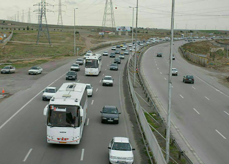 آخرین وضعیت تردد در راههای کشور