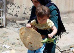 فرار کودکان از آخرین حلقه محاصره باقی مانده داعش در موصل