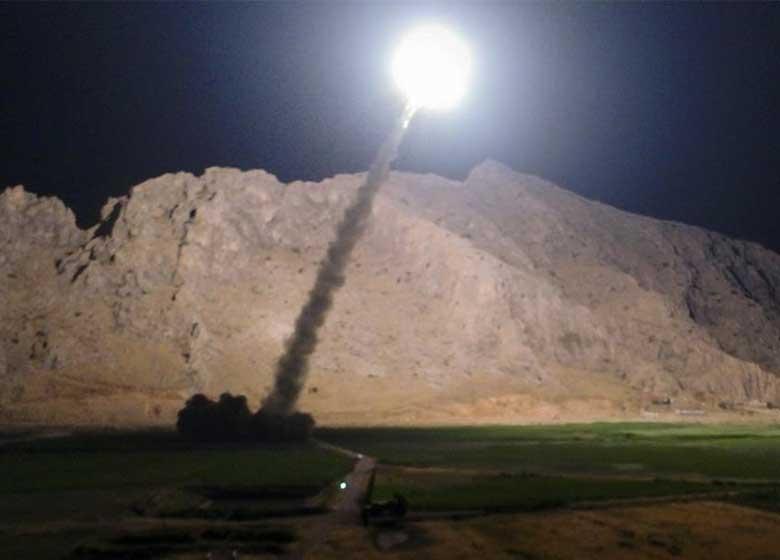واکنش جالب مجری الجزیره به سیلی سپاه به داعش