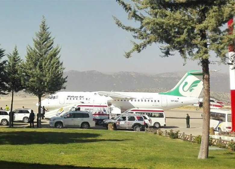 تعطیلی فرودگاه یاسوج تا دوماه