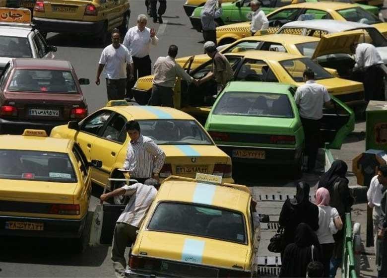 میزان افزایش نرخ کرایه تاکسی، اتوبوس و مترو